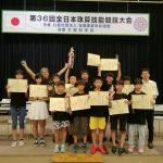 『全日本珠算技能競技大会』in  Tokyo